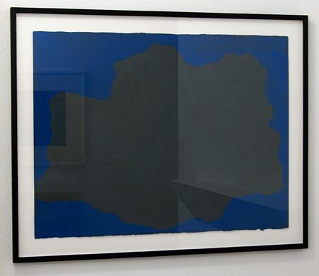 """Sol LeWitt / Sol LeWitt Irregular Form  1998 55.9 x 76.2 cm / 22 x 30"""" gouache on paper"""