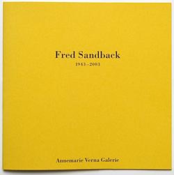 Fred Sandback (1943â??2003)