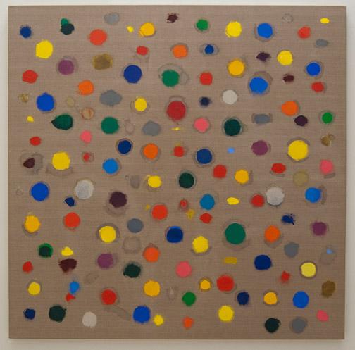 Jerry Zeniuk / Jerry Zeniuk Untitled (Nr. 300)  2007 180 x 180 cm Öl auf Leinwand
