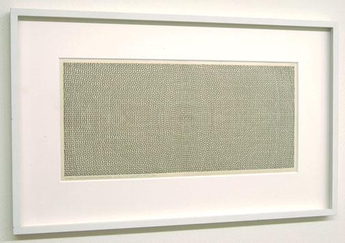 Sol LeWitt / Circles, Grid and Arcs  from Four Sides  1972 pencil and ink on paper 19 x 41.5 cm  Privatsammlung nicht verkäuflich