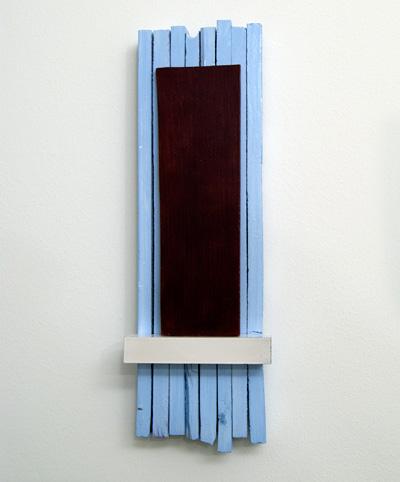 Joseph Egan / Joseph Egan Contour  2011  39 x 12.5 x 5 cm various paints on wood