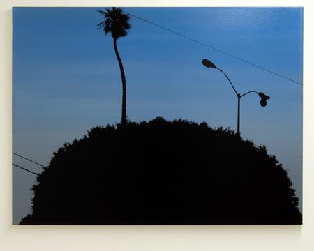 "Glen Rubsamen / Glen Rubsamen Lincoln and Rose  2001  91.5 x 121.9 cm / 36 x 48 "" acrylic on canvas"