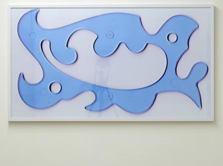 Rita McBride / Rita McBride Cielprojap Template  2006  58.5 x 105.5 cm ink jet print