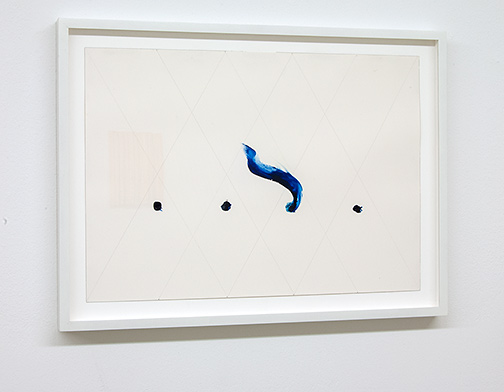Richard Tuttle / Richard Tuttle Four Horsemen (3)   2018  40.6 x 55.9 cm   acrylic and graphite on paper