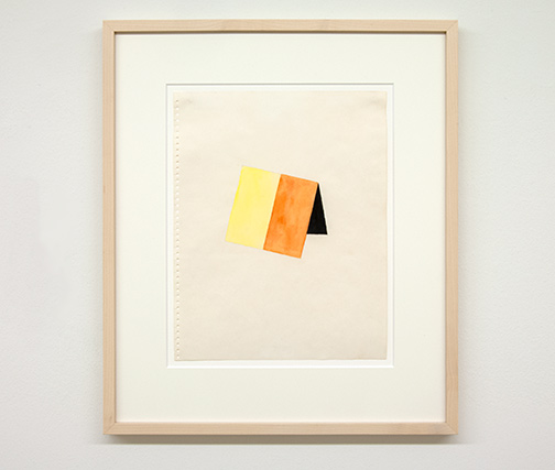 Richard Tuttle / Richard Tuttle Untitled   1971  35.5 x 28 cm Watercolor and pencil on paper