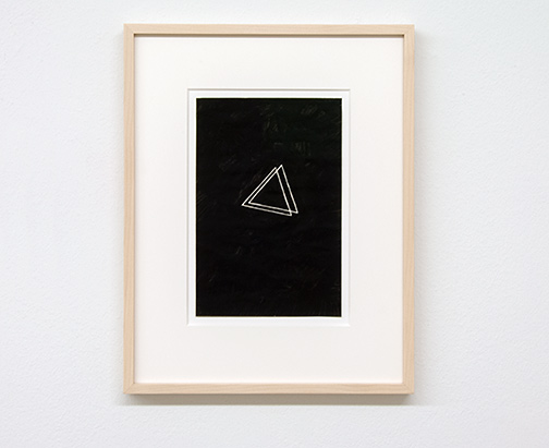 Richard Tuttle / Richard Tuttle Untitled   1973  22.8 x 14.8 cm ink on paper