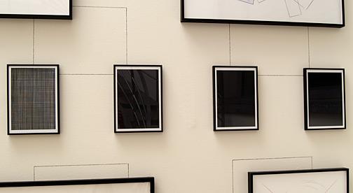 Giulio Paolini / Ennesima (Appunti per la descrizione di dodici disegni datati 1975-88)  1988 Fotoprints, 12-teilig, je: 32 x 23 cm Detail