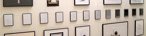 Giulio Paolini / Ennesima  (Appunti per la descrizione di dodici disegni datati 1975-88)  1988  Fotoprints, 12-teilig,  je: 32 x 23 cm