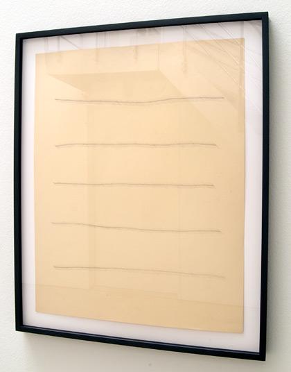 Ree Morton / Ree Morton Untitled (Line Drawing)   ca. 1968 -1970  61 x 48.3 cm Pencil on paper