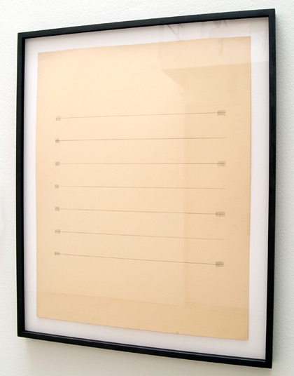 Ree Morton / Ree Morton Untitled (Line Drawing)     ca. 1968 -1970  61 x 48.3 cm Pencil on paper