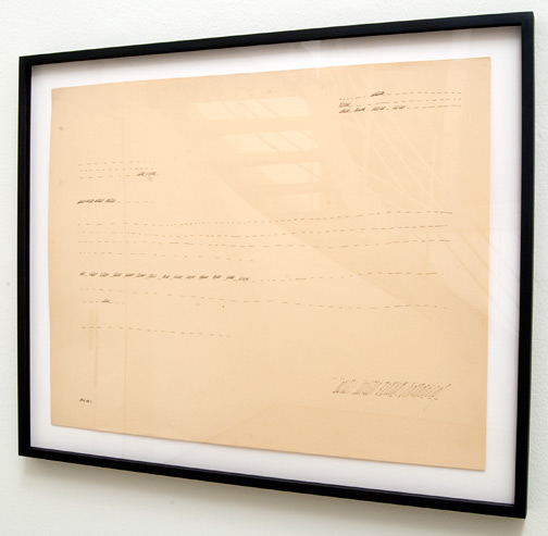 Ree Morton / Ree Morton Untitled (Line Drawing)     ca. 1968 -1970 48.3 x 61 cm Pencil on paper