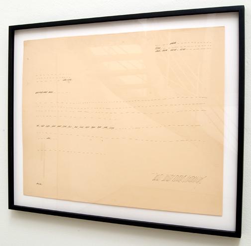 Ree Morton / Ree Morton Untitled (Line Drawing)   ca. 1968 -1970 48.3 x 61 cm Pencil on paper