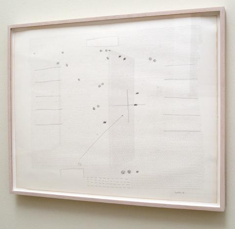 Ree Morton / Ree Morton Untitled  1972  58.4 x 73.7 cm Pencil on paper