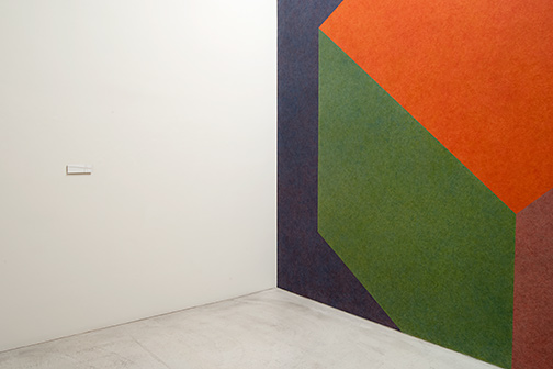Fred Sandback / Fred Sandback and Annemarie Verna Gallery. A Collaboration 1971 to 2003.