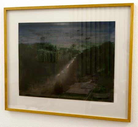 Joseph Egan / Joseph Egan (*1952)  Colours in the world (Nr. 7)  1998  35 x 45 cm framed: 50 x 59.5 x 2.5 cm oil paints on paper