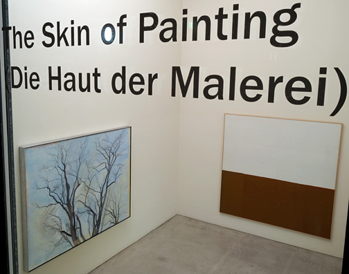 James Bishop,  				Antonio Calderara,  				Joseph Egan,  				Richard Francisco,  				Robert Mangold,  				Sylvia Plimack Mangold,  				Jerry Zeniuk,  				Sol LeWitt, The Skin of Painting