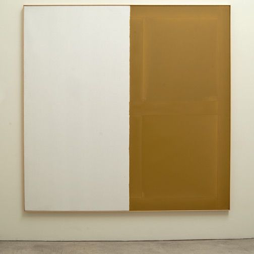 James Bishop / James Bishop Untitled  1974 192.5 x 193 cm oil on canvas