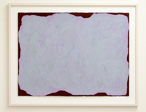 Sol LeWitt / Irregular Form  1999  55.9 x 76.2 cm  gouache on paper