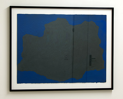 Sol LeWitt / Irregular Form  1998  55.9 x 76.2 cm  gouache on paper