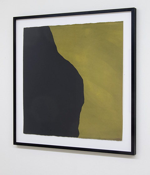 Sol LeWitt / Irregular Shape  1997  55.9 x 55.9 cm  gouache on paper