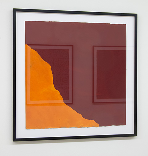 Sol LeWitt / Irregular Shape  1997  55.9 x 55.9 cm   gouache on paper