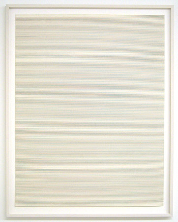 Sol LeWitt / Straight, not straight and broken lines in all horizontal combinations  (three kinds of lines and all their combinations) 1973 each 69 x 53.8 cm etching portfolio of 7, Ed. 7/25