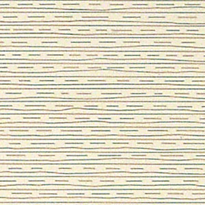 Sol LeWitt / detail of Straight, not straight and broken lines in all horizontal combinations  (three kinds of lines and all their combinations) 1973