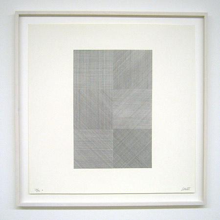 Sol LeWitt / Composite Series  1971 50.8 x 50.8 cm silkscreen (black) Ex.39/40