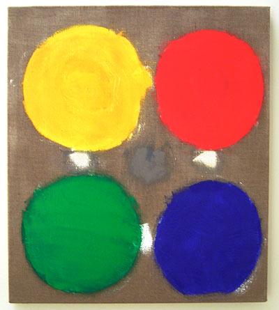 Jerry Zeniuk / Untitled  2006 80 x 70 cm oil on canvas