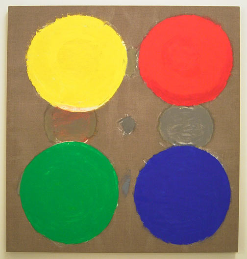 Jerry Zeniuk / Untitled Nr. 283  2006 170 x 160 cm oil on canvas