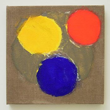 Jerry Zeniuk / Untitled  2006 40 x 40 cm oil on canvas