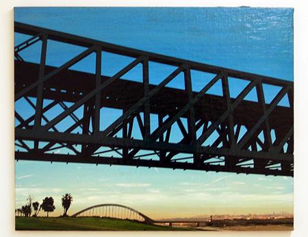Glen Rubsamen / Merida  1997 61 x 81.2 cm oil on canvas on wood