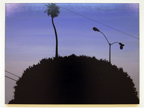 Glen Rubsamen / Lincoln and Rose  2001 91.5 x 121.9 cm / 36 x 48 '' oil on canvas