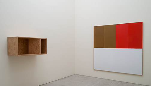 James Bishop,  				Antonio Calderara,  				Joseph Egan,  				Donald Judd,  				Robert Mangold,  				Richard Tuttle,  				Jerry Zeniuk, Sommerausstellung 2017