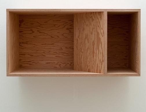 Donald Judd / Donald Judd Untitled (89-48)  1989 50 x 100 x 50 cm douglas fir plywood