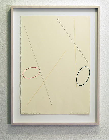 David Rabinowitch / David Rabinowitch  Construction of Vision  1975 47.5 x 33.5 cm pencil and colored pencil on paper