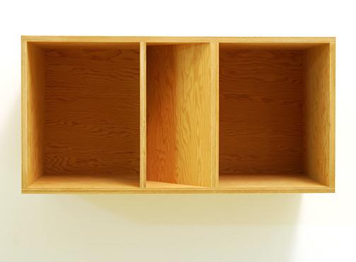 Donald Judd / Donald Judd  Untitled 89-50  1989 50 x 100 x 50 cm douglas fir plywood