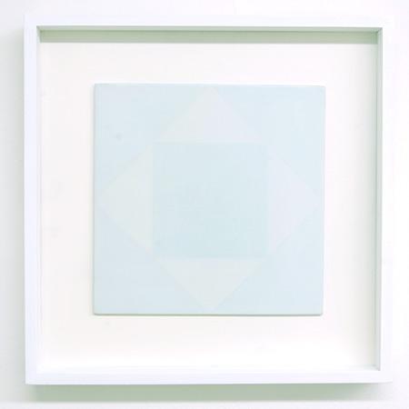Antonio Calderara / Antonio Calderara Senza titolo, 1 1978  27 x 27 cm Oel auf Holz