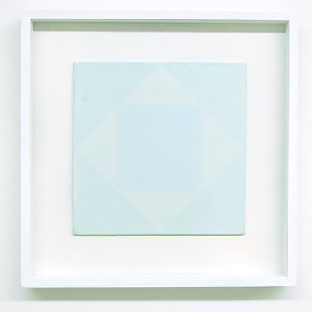 Antonio Calderara / Antonio Calderara  Senza titolo, 2  1978 27 x 27 cm oil on wood