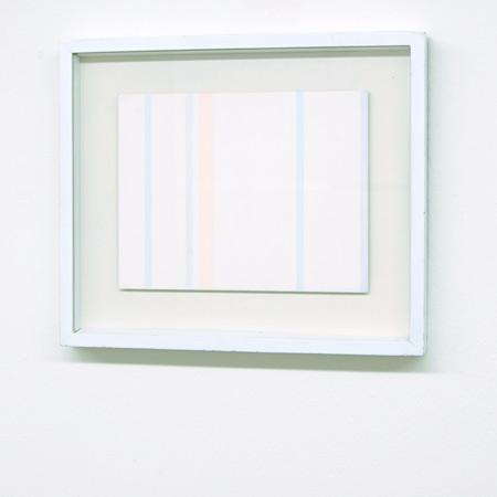 Antonio Calderara / Antonio Calderara  Senza titolo  1974 21 x 27 cm oil on wood