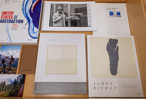 James Bishop,  				Joseph Egan,  				Richard Francisco,  				Sol LeWitt,  				Robert Mangold,  				Sylvia Plimack-Mangold,  				Glen Rubsamen,  				Richard Tuttle,  				Jerry Zeniuk, Tribute to James Bishop