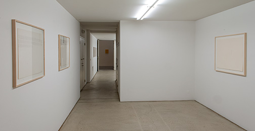 Joseph Egan,  				Richard Francisco,  				Giorgio Griffa,  				Sol LeWitt,  				David Rabinowitch,  				Fred Sandback,  				Jerry Zeniuk,  				Richard Tuttle, Work Groups from the 70s and 80s