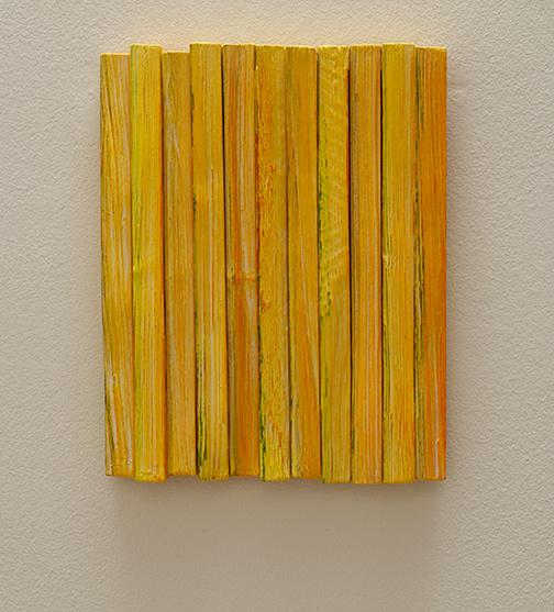 Joseph Egan / Joseph Egan Colors  2018  36.5 x 29 x 4.5 cm various paints on wood